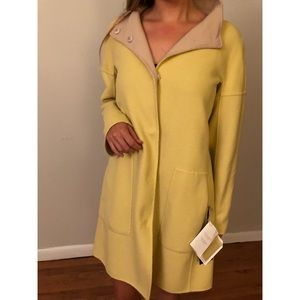 Adelio Wool Coat Model Pics